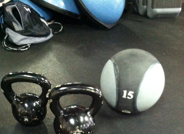The medicine ball can be a great workout tool.