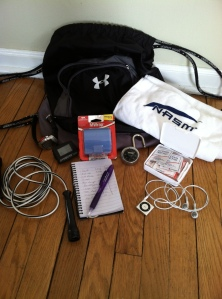 Come prepared for the task at hand. Gym bag basics will keep you on track for your goals.
