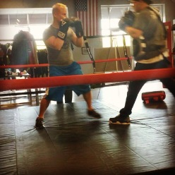 Boxing keep me sharp and is always fresh and challenging.  My favorite type of workout!